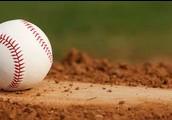 Baseball On A Mound