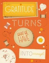 December's Character Focus is Gratitude