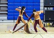 Get Here LHS Winter Guard Performance 2015