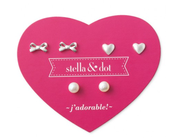 Mini Pearl Trio Earring Set