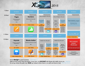 xCamp2015 full schedule released!!