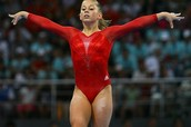 Female Doing Gymnastics