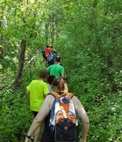 Partner trail walking