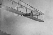 Orville being the pilot in the Wright Brothers First Flight