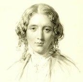 What is Harriet Beecher Stowe like and what has she  experienced