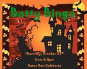 Batty Bingo Tickets for Staff