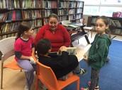 א2 בפעילות בספרייה