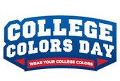 Monday - Sept 29 - Wear Your College Colors Day