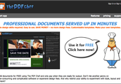 The PDF Chef is FREE to use