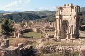מקומות היסטורים באלגיריה