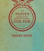The Victory Binding of the American Woman's Cook Book, Wartime Edition