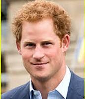 Prince Harry as the Prince