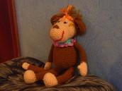 Моя первая обезьянка
