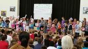 Our kindergarteners shine!