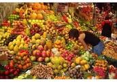 frutas verduras y granos