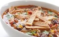 Pollo Sopa De Tortilla