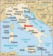 Rome Geography
