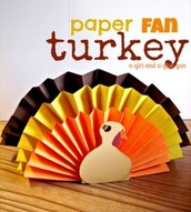 Paper Fan Turkeys
