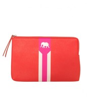 Hot Pink Poppy Capri Pouch
