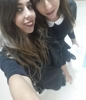 ME AND MY LOVELY CO TEACHER YASMINE:)