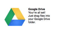 The folders and documents you have created previously will be there.