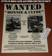 Bonnie & Clyde Barrow