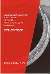 Bain Luxury Worldwide Market Study: Fall/Winter 2015