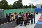 Lido Staff get roller skating