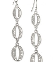 Kimberly Drop Earrings- SIlver
