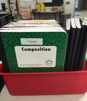 Organized Word Problem Journals