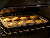 Cookies are baking