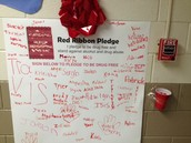 Red Ribbon Week Pledge