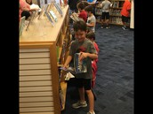 Selecting a just right book