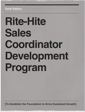 Rite-Hite Sales Coordinator Program