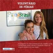 Voluntário de Férias