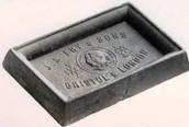 Первая шоколадная плитка