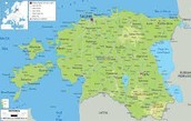 geography of estonia