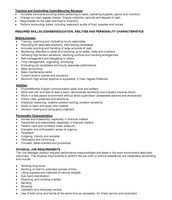 Unit Manager position pg. 2