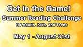 Frederick County Public Library Summer Reading Challenge