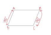 Consecutive angles equal 180 degrees