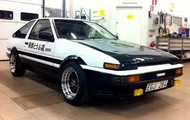 Favortie car is the Toyota Trueno AE86