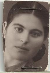 Mi abuela de joven.