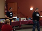 Illinois Reads Family Literacy Night- Ryan Schaeffer and Jason Arneson