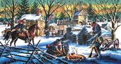 the camp in valley forge