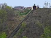 Train tracks on BIG hill