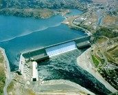 The first hydroelectric plant