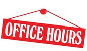 FCI OFFICE HOURS