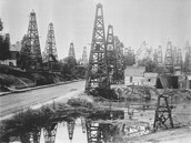 Drilling in town of Beaumont