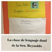Ms. Reynolds' 3rd grade dual language class teaches us about Mexican writer, Juan Rulfo!