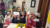 Mailing our Letters!